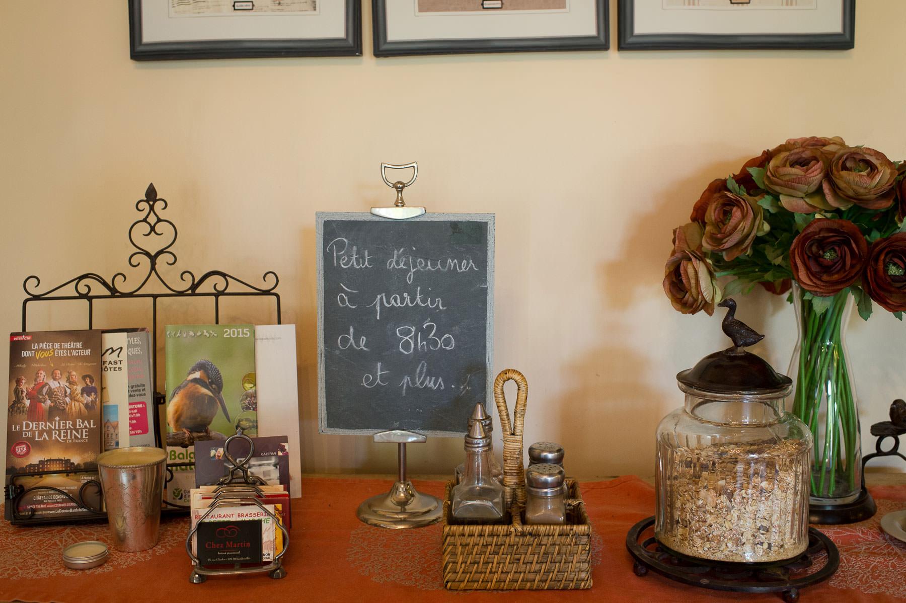 Table d h´tes & Petit Déjeuner  La Ferme de Bouchemont