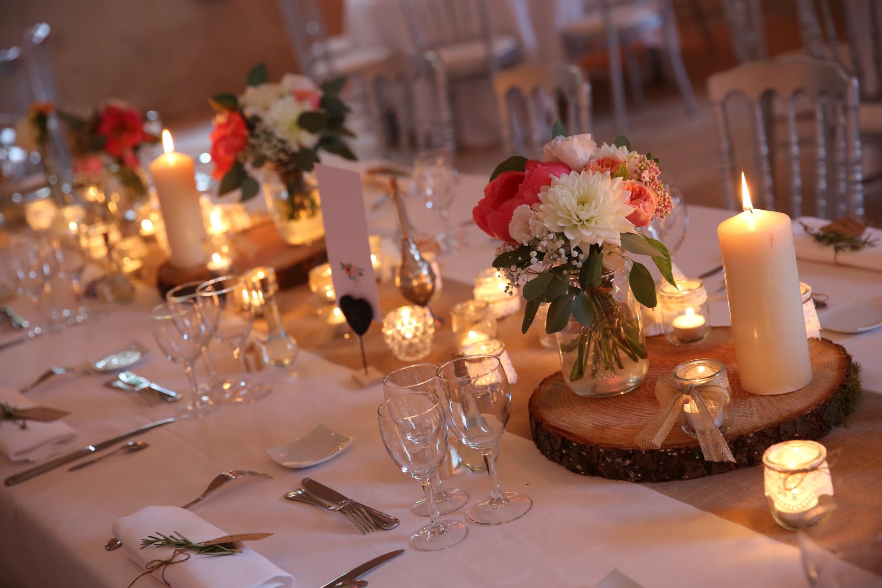 La Decoration De Mariage : Décoration mariage réception chic et champêtre